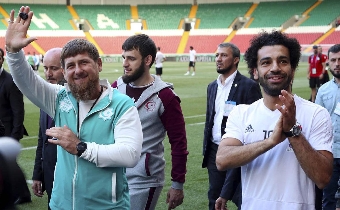 Кадыров присвоил нападающему сборной Египта почетное гражданство Чечни