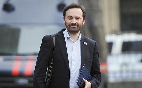 Экс-депутат госдумы Илья Пономарев