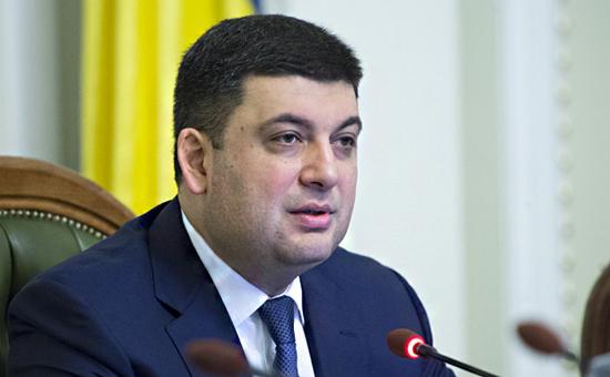 Претендент на пост премьера Украины Владимир Гройсман