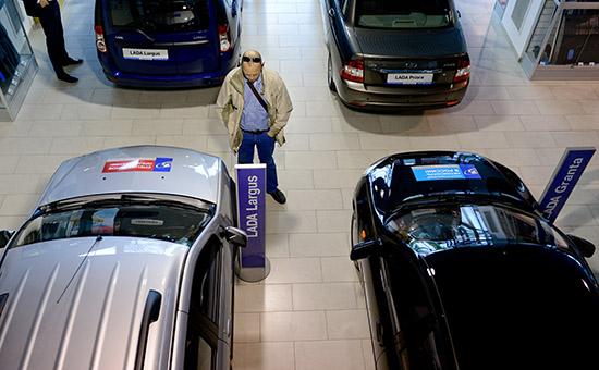 Автосалон Lada в Санкт-Петербурге