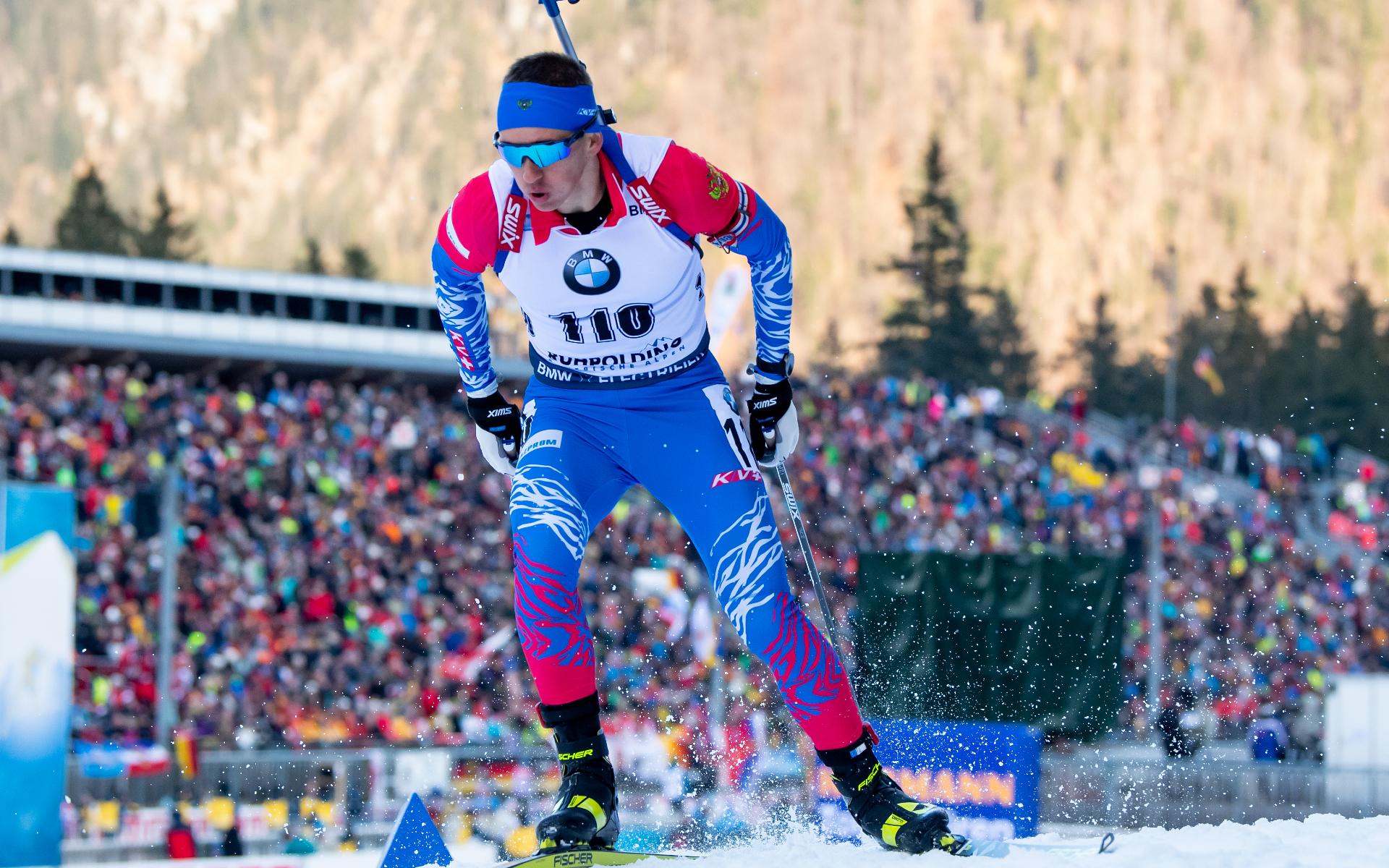 Биатлонист сборной России Карим Халили