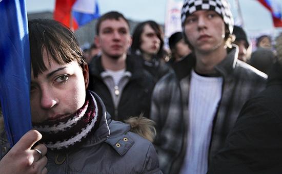 Митинг «Россия против террора» в Москве. Декабрь 2009 года