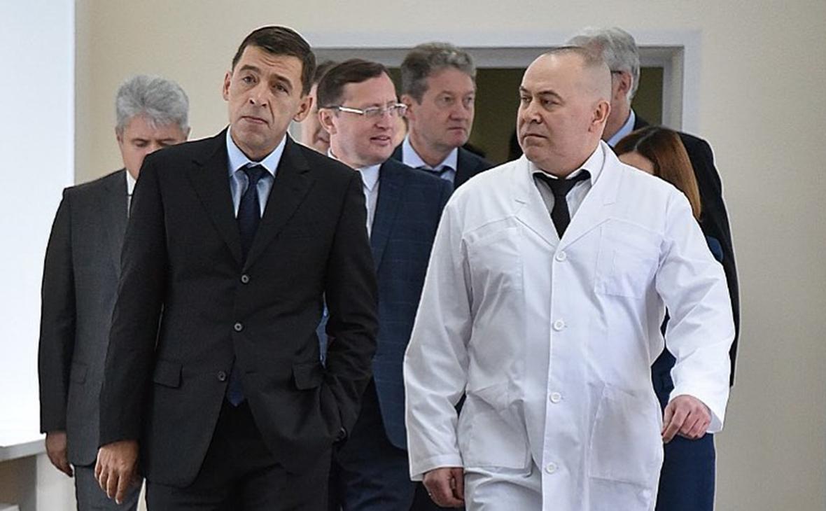 Евгений Куйвашев и Андрей Карлов (справа)