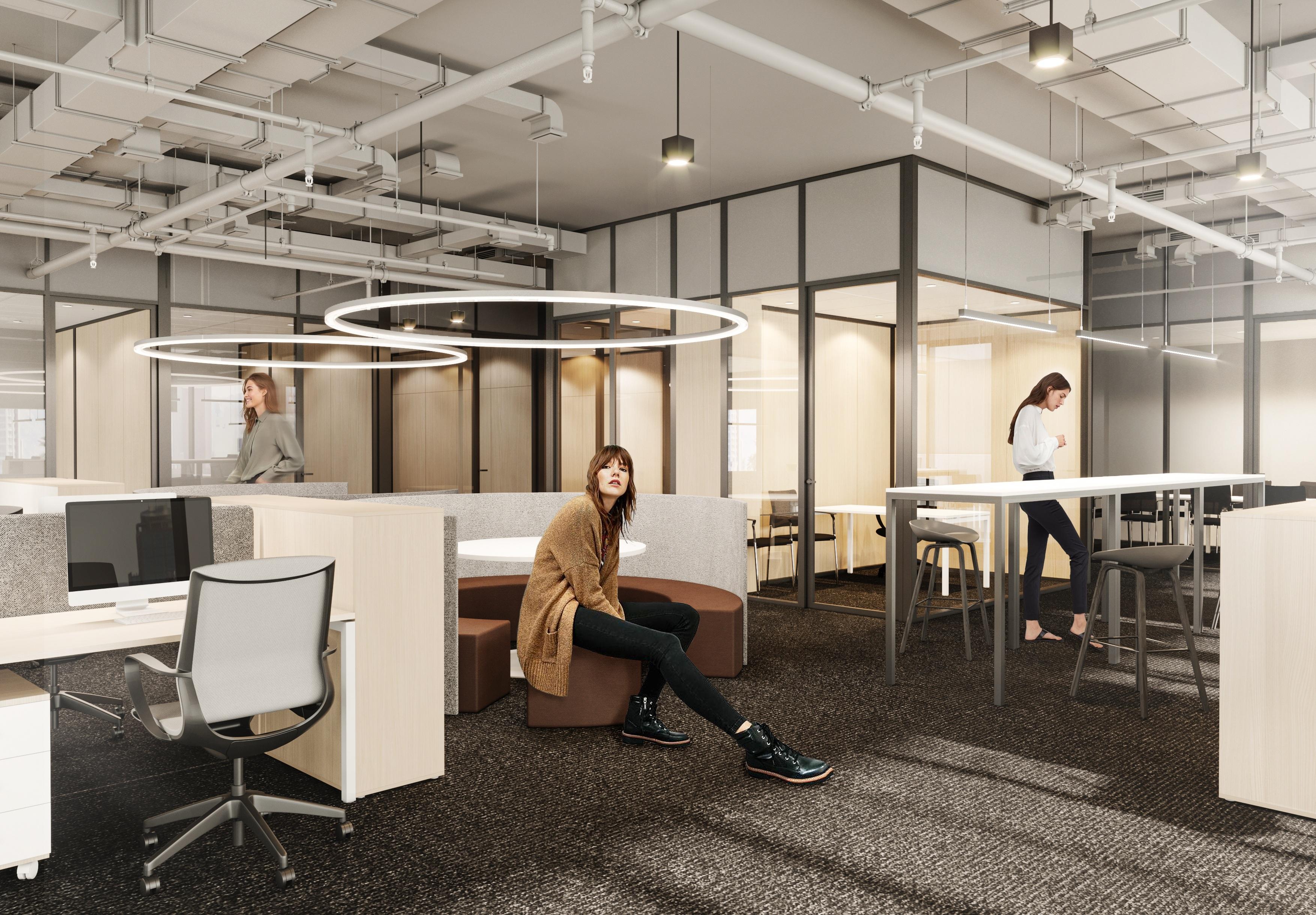 Бизнес-центр класса А Technopark Plaza. Визуализация