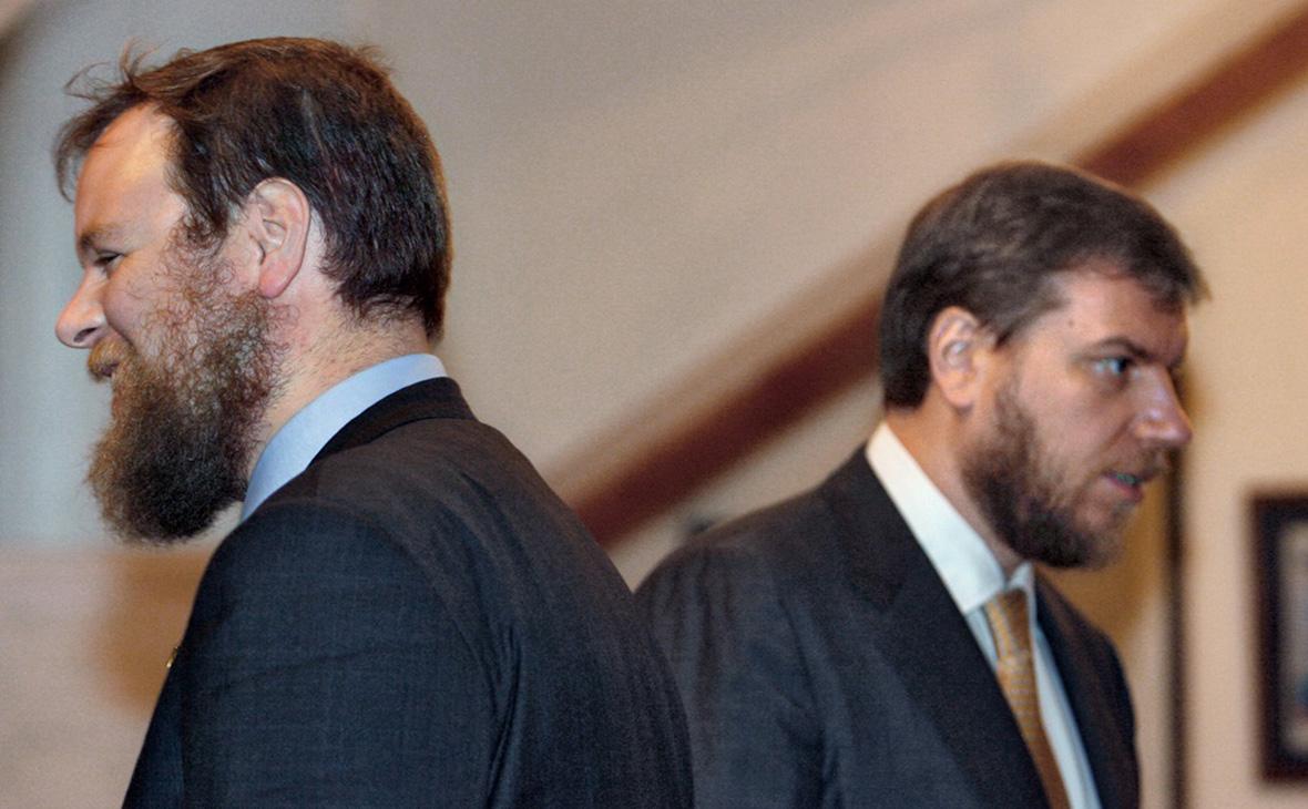 Дмитрий (слева) и Алексей Ананьевы. 2007 год