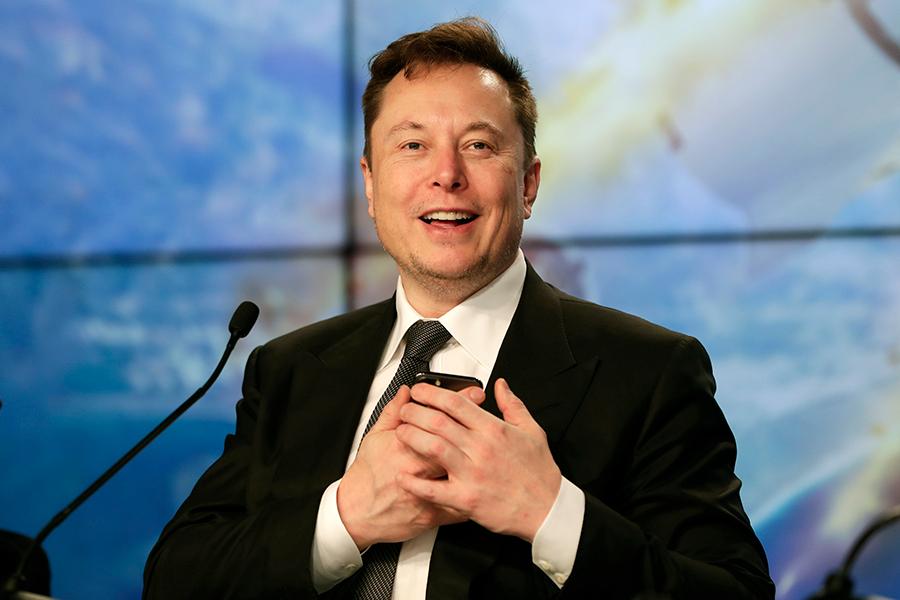 Американский изобретатель, визионер и миллиардер Илон Маск