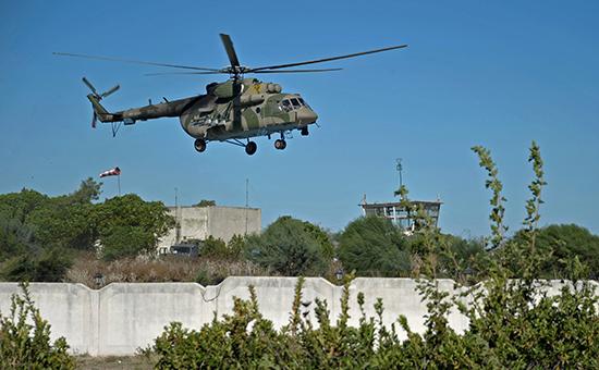 В Сирии обстреляли российский Ми-8 с гуманитарной помощью