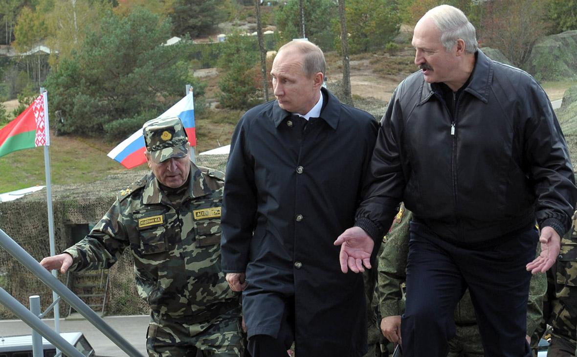 Владимир Путини Александр Лукашенко