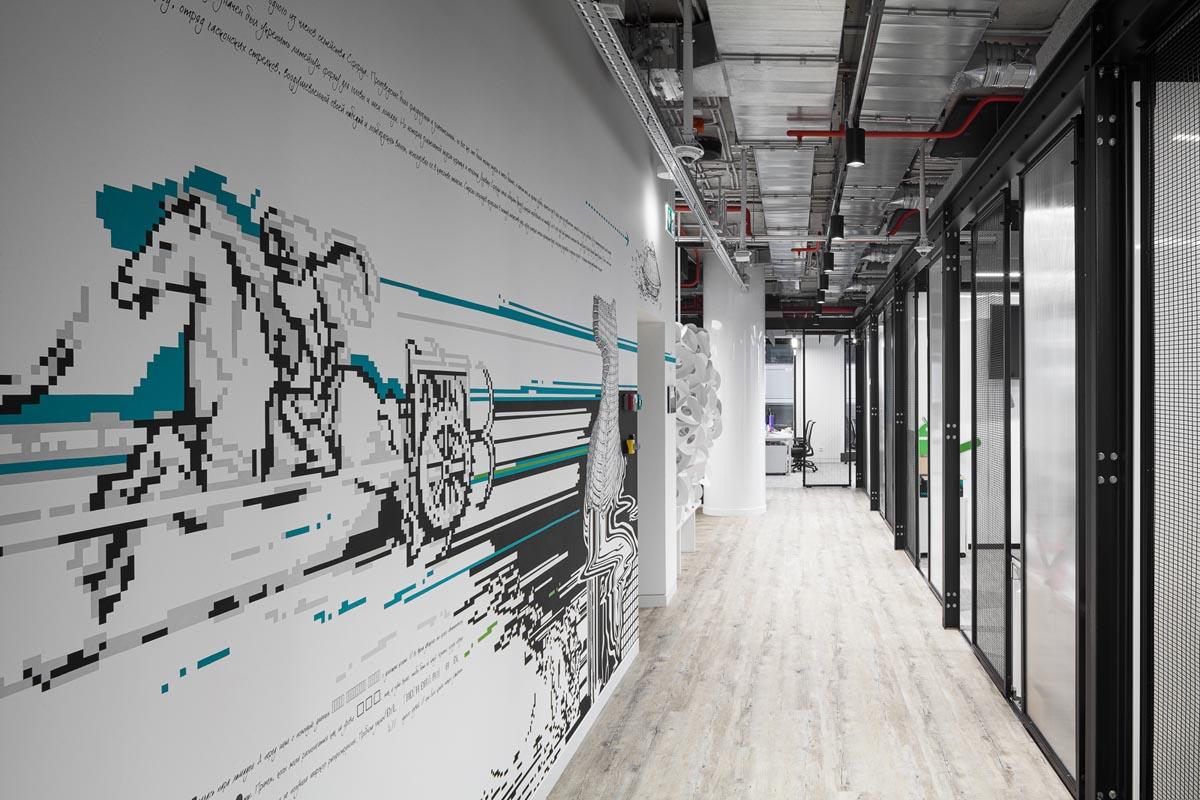 На пятом этаже воплотили концепцию «Авито-тех»
