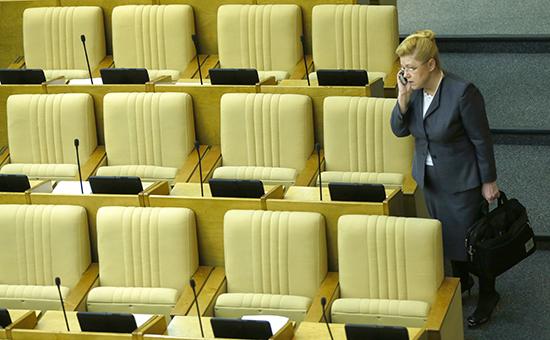 Член Совета Федерации Елена Мизулина