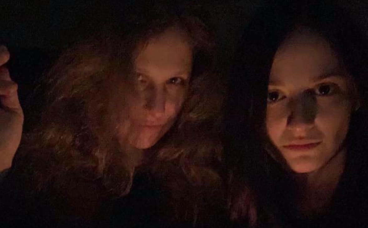 Мария Алехина и Люся Штейн