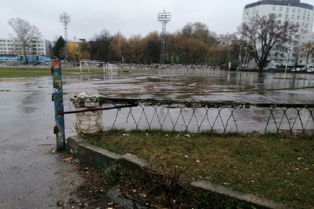 Стадион «Водник» в настоящее время