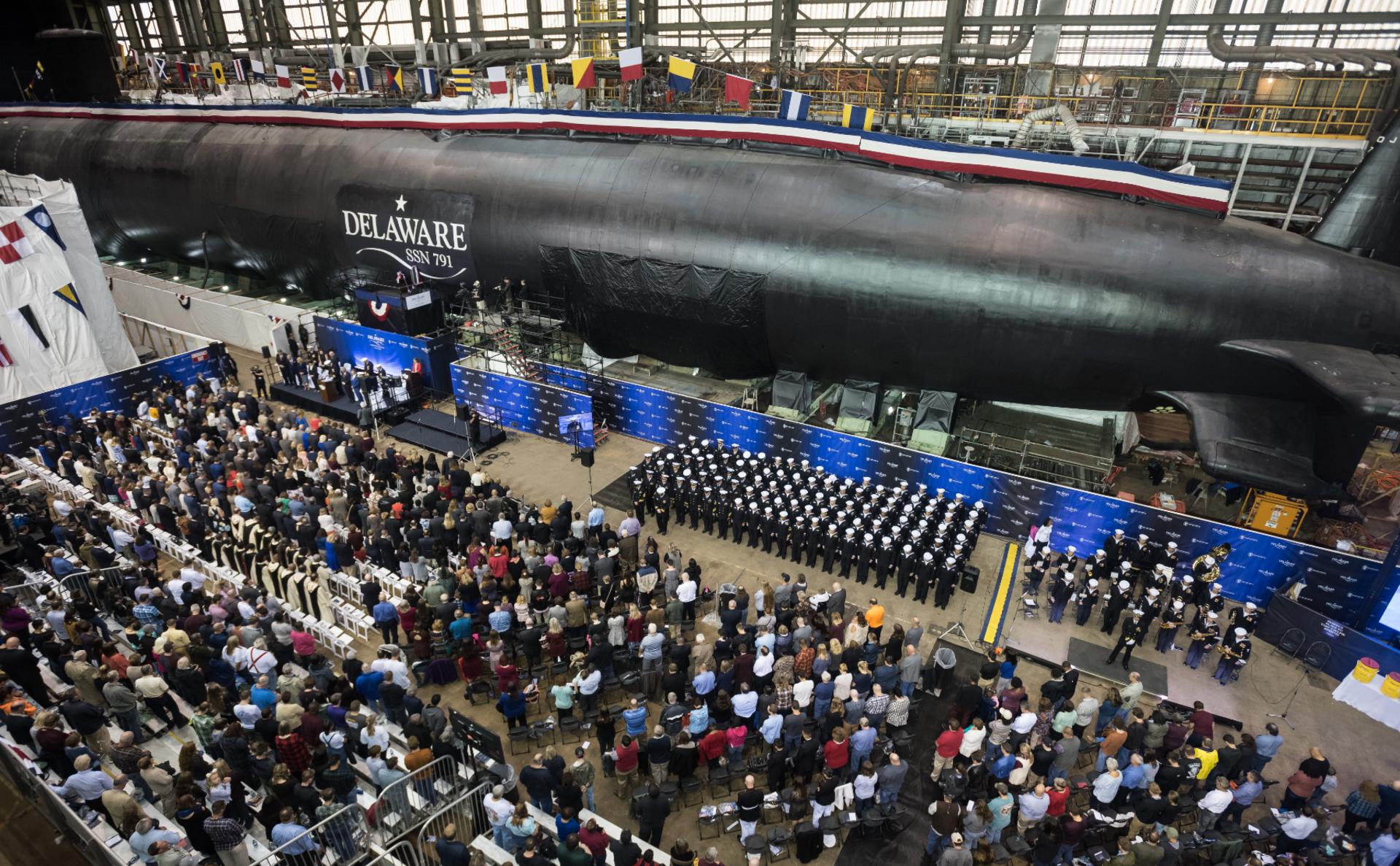 Фото: Newport News Shipbuilding