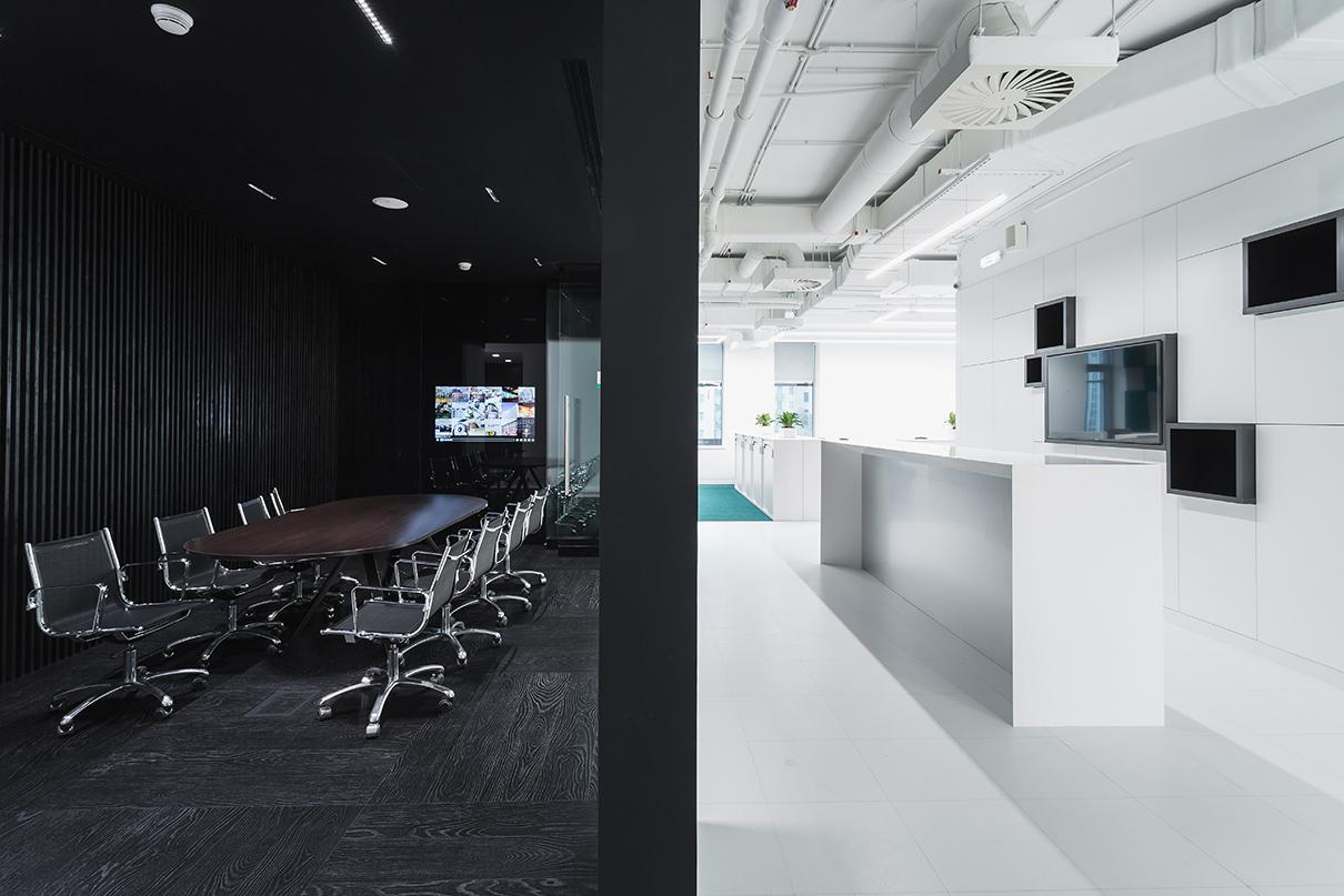 Из портфолио: интерьер офиса компании RD Construction