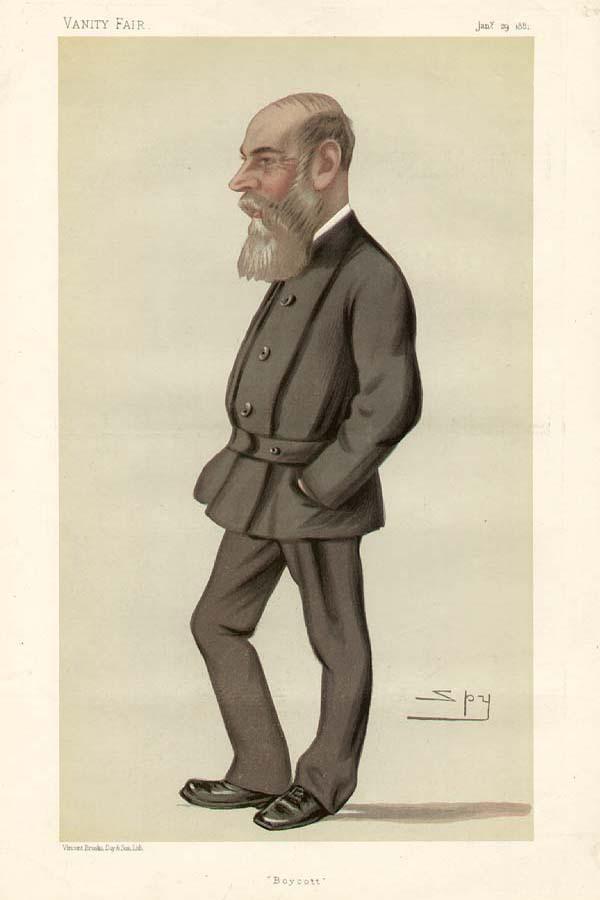 Чарльз Бойкотт, рисунок из Vanity Fair