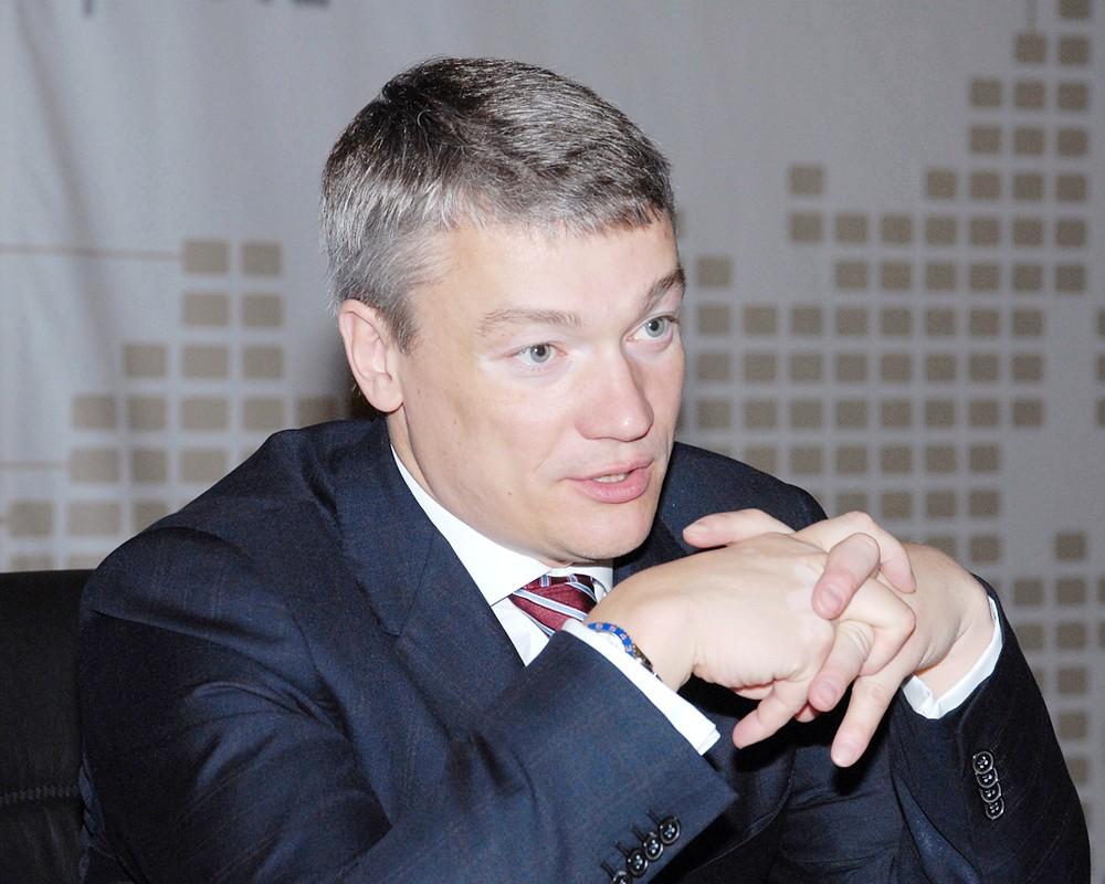 """Президент ОАО """"Универсальная электронная карта"""" Алексей Попов"""