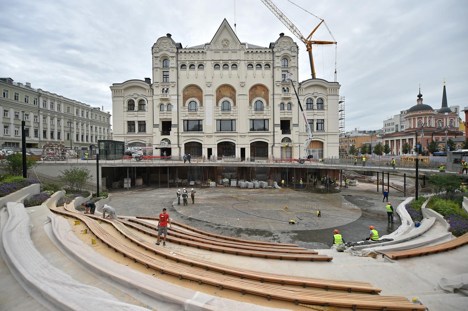 Сейчас здание закрыто на реконструкцию и откроется в ноябре 2020 года. Площадь Политехнического музея увеличилась на 16 тыс. кв. ми составляет 48 тыс. «квадратов». Добавилось два подземных этажа с инженерными сетями