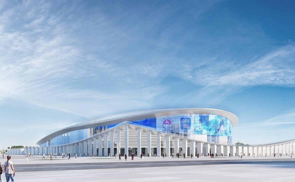 проект ледовой арены в Нижнем Новгороде