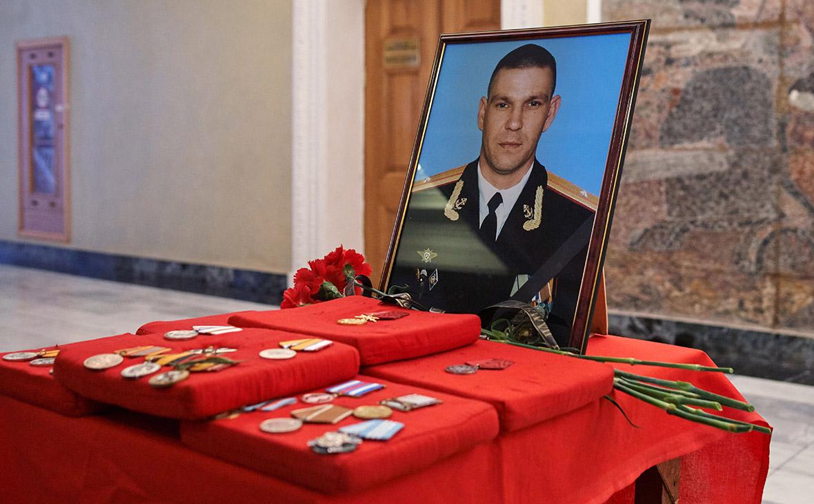 Траурный портрет Сергея Бордова