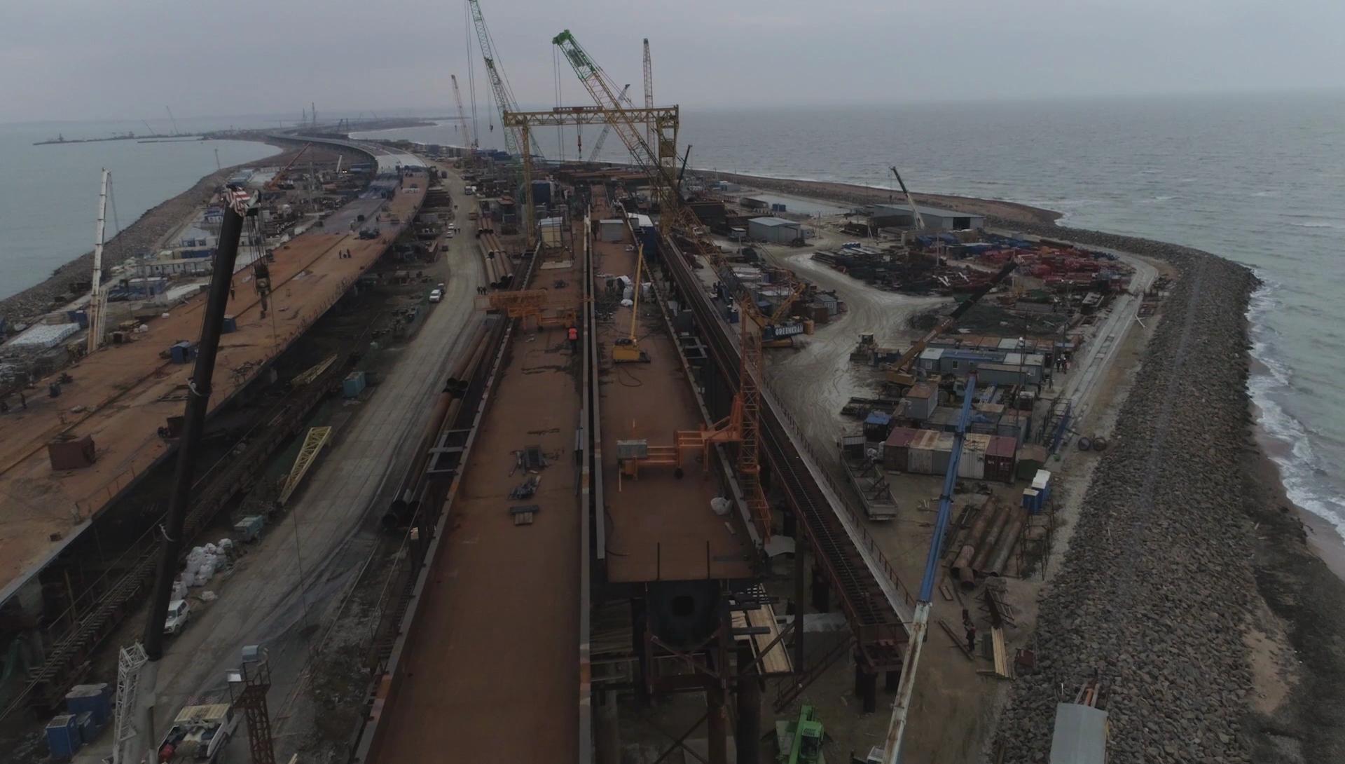 Видео:Инфоцентр «Крымский мост»
