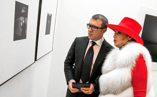 Ирина Винер с сыном Антоном Винером