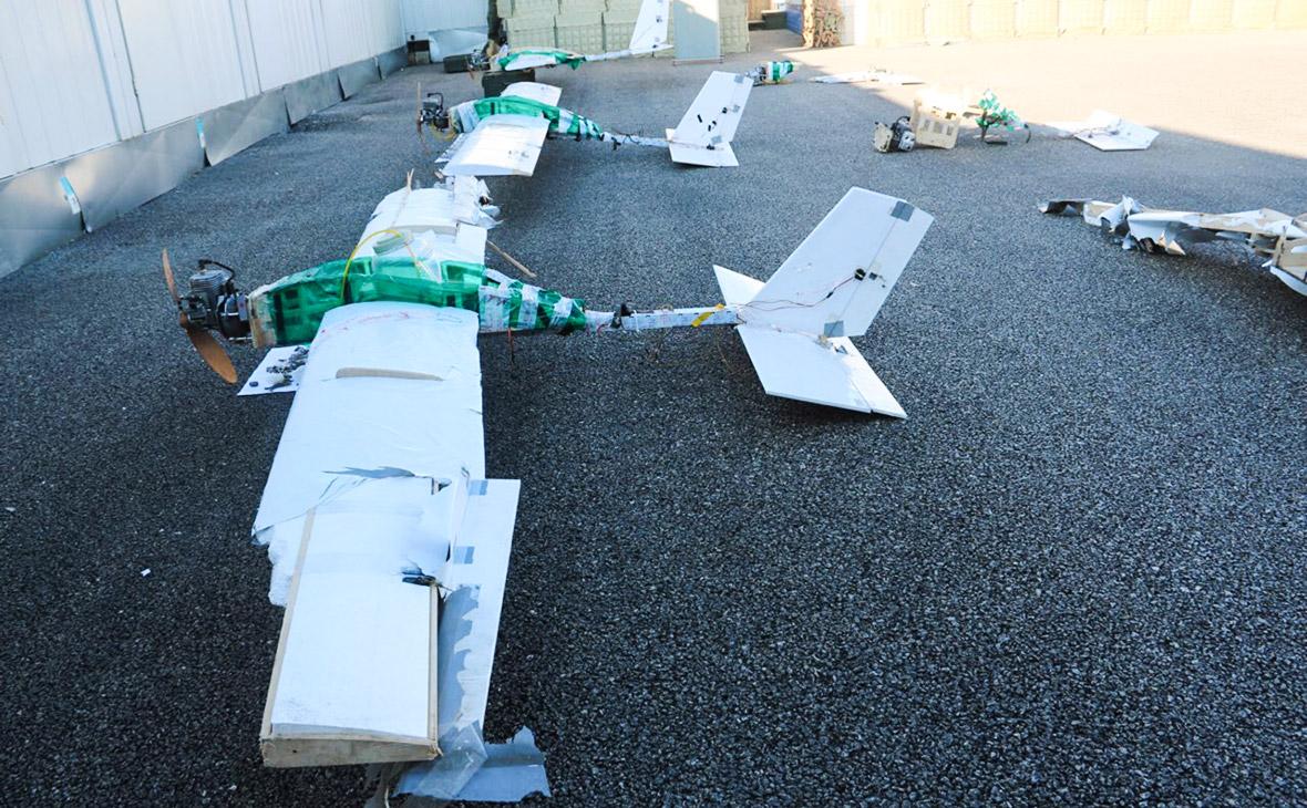 Беспилотные летательные аппараты, участвовавшие в атаке на российские военные объекты в Сирии. Январь 2018 года
