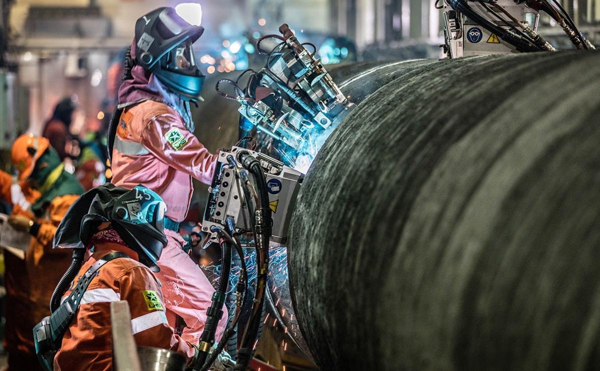 Фото:Paul Langrock / Nord Stream 2