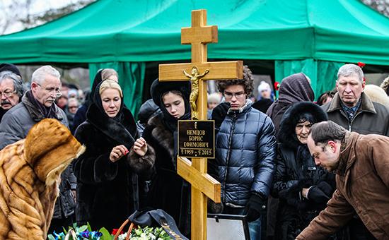 Похороны политикаБориса Немцова