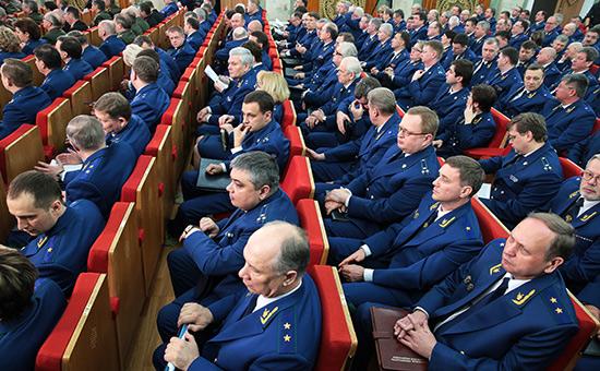 Заседание коллегии Генеральной прокуратуры