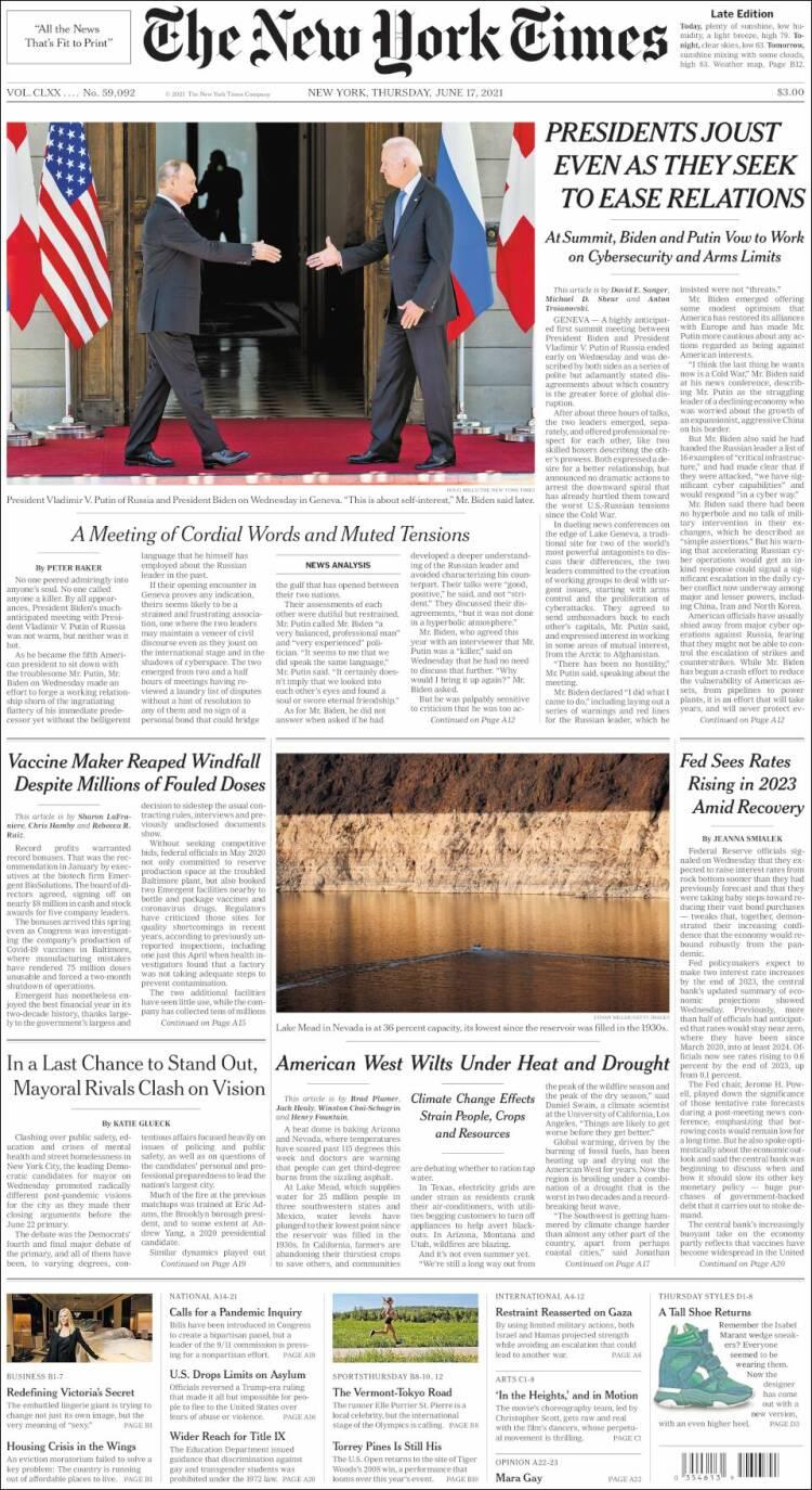 The New York Times, США