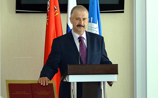 Глава Сергиева Посада Виктор Букин