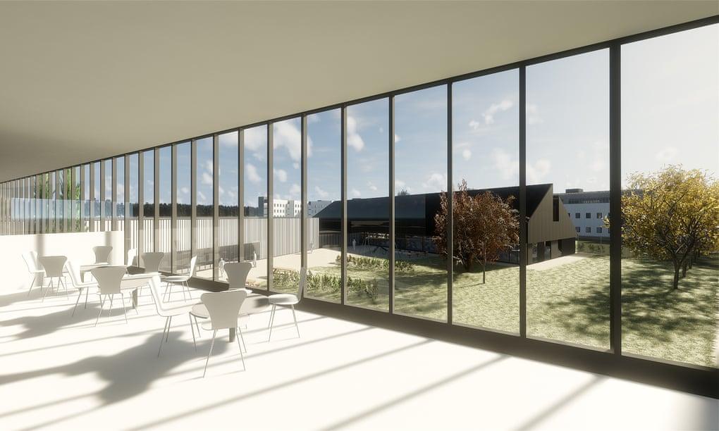 Пространство тюрьмы Веллингборо напоминает кафе IKEA, что, по мнению архитекторов, отвечает концепции тюрем XXI века