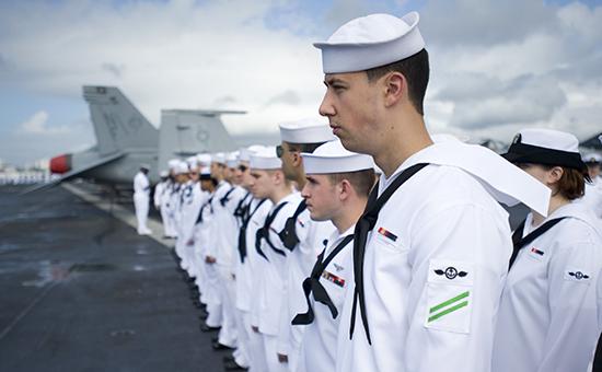 Моряки ВМС США