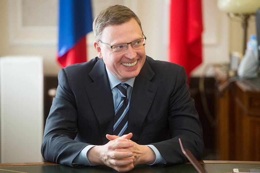 Временно исполняющий обязанности губернатора Омской области Александр Бурков