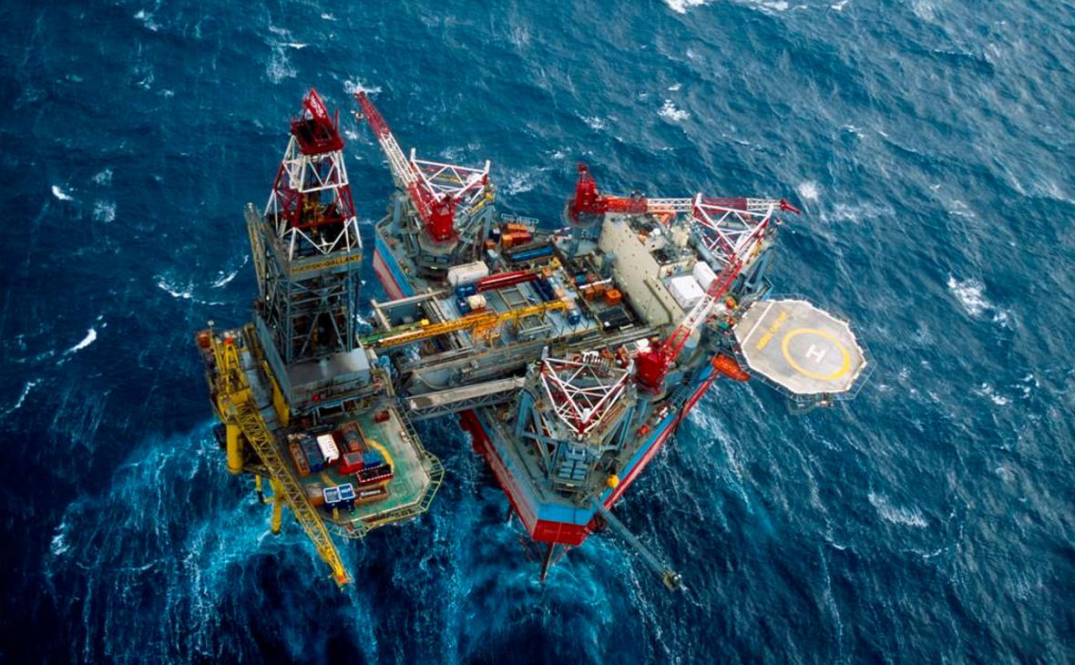 Добыча природного газа на шельфе