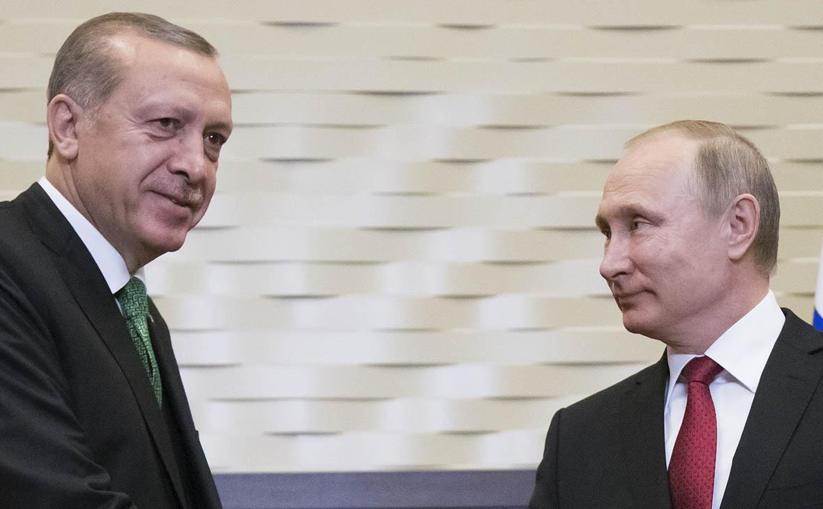 Эрдоган рассказал о своем сходстве с Путиным