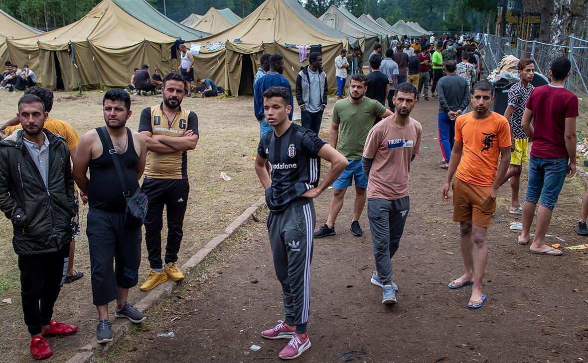 Лагерь для беженцев в Литве