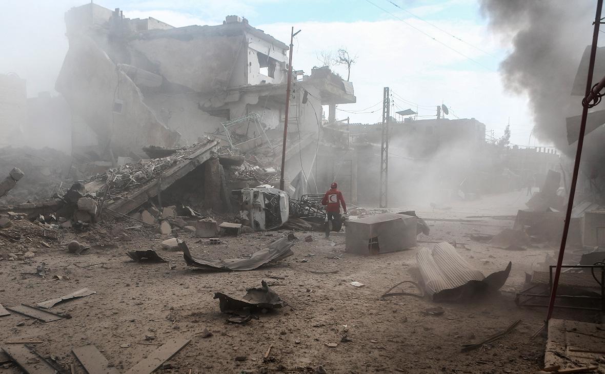 Госдеп заявил о гибели 100 мирных жителей в Гуте при ударах сил Асада