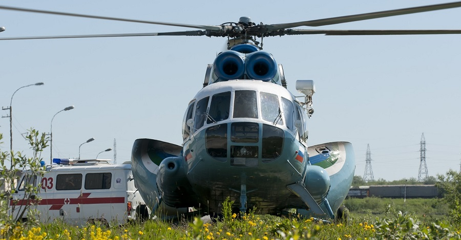 В 2018 году у санавиации Прикамья появится новый вертолет