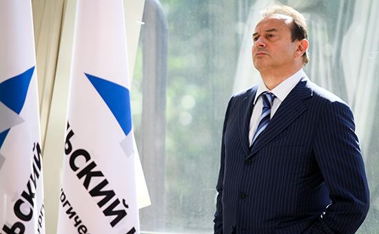 Бывший генеральный директор ОАО «ГМК «Норильский никель» Владимир Стржалковский