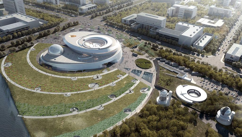 Общая площадь нового здания достигнет 58тыс.кв.м, астоимость строительства, пооценкам китайскихСМИ, составит $81,2 млн