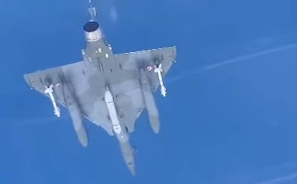Самолет тактической авиации ВВС Франции «Мираж-2000»