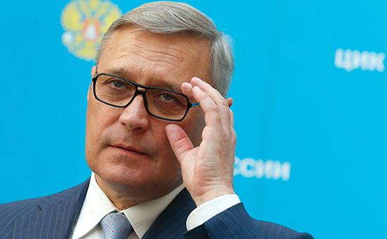 Председатель партии ПАРНАС Михаил Касьянов