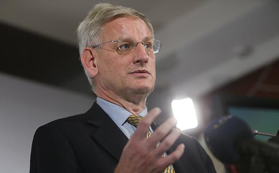 Бывший премьер-министр Швеции Карл Бильдт