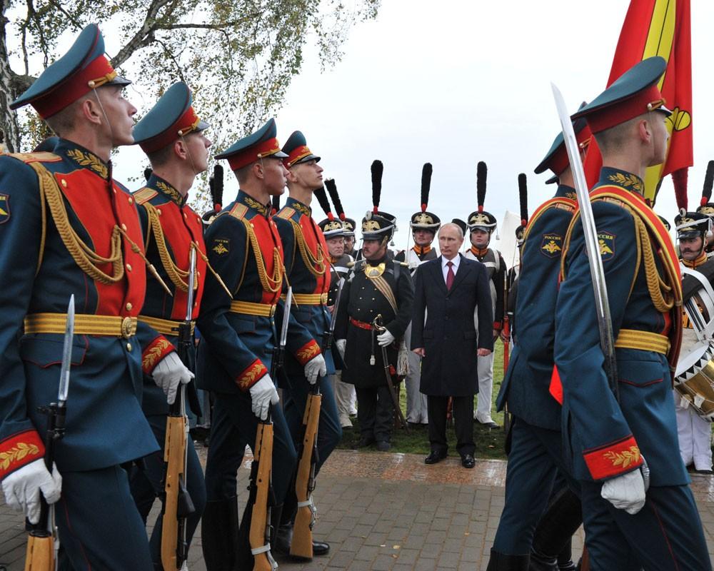 Семеновский полк фотографии