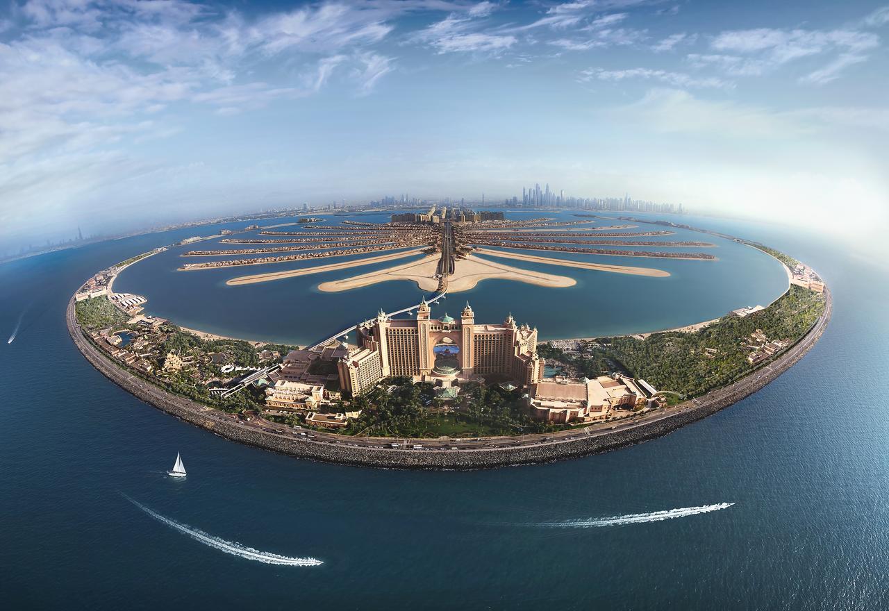 На острове пальм. Atlantis The Palm (ОАЭ)