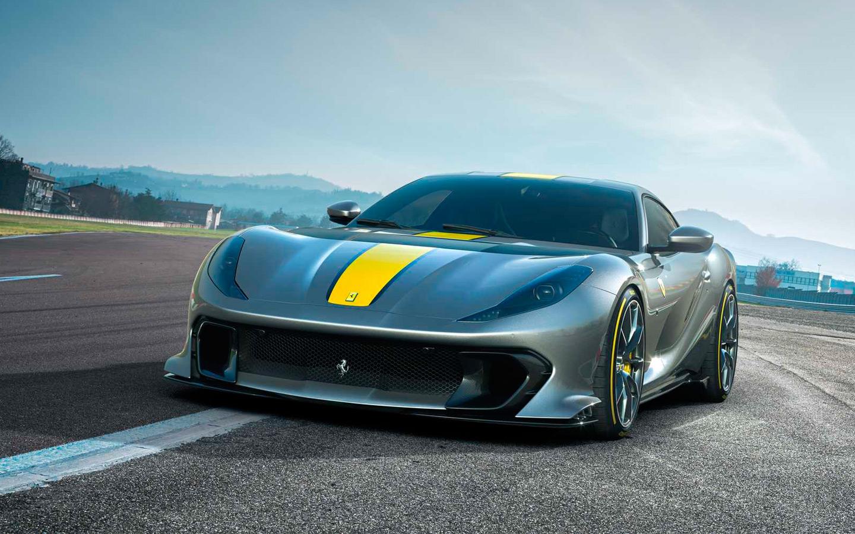 Ferrari показала суперкар с мощным мотором в своей истории :: Autonews