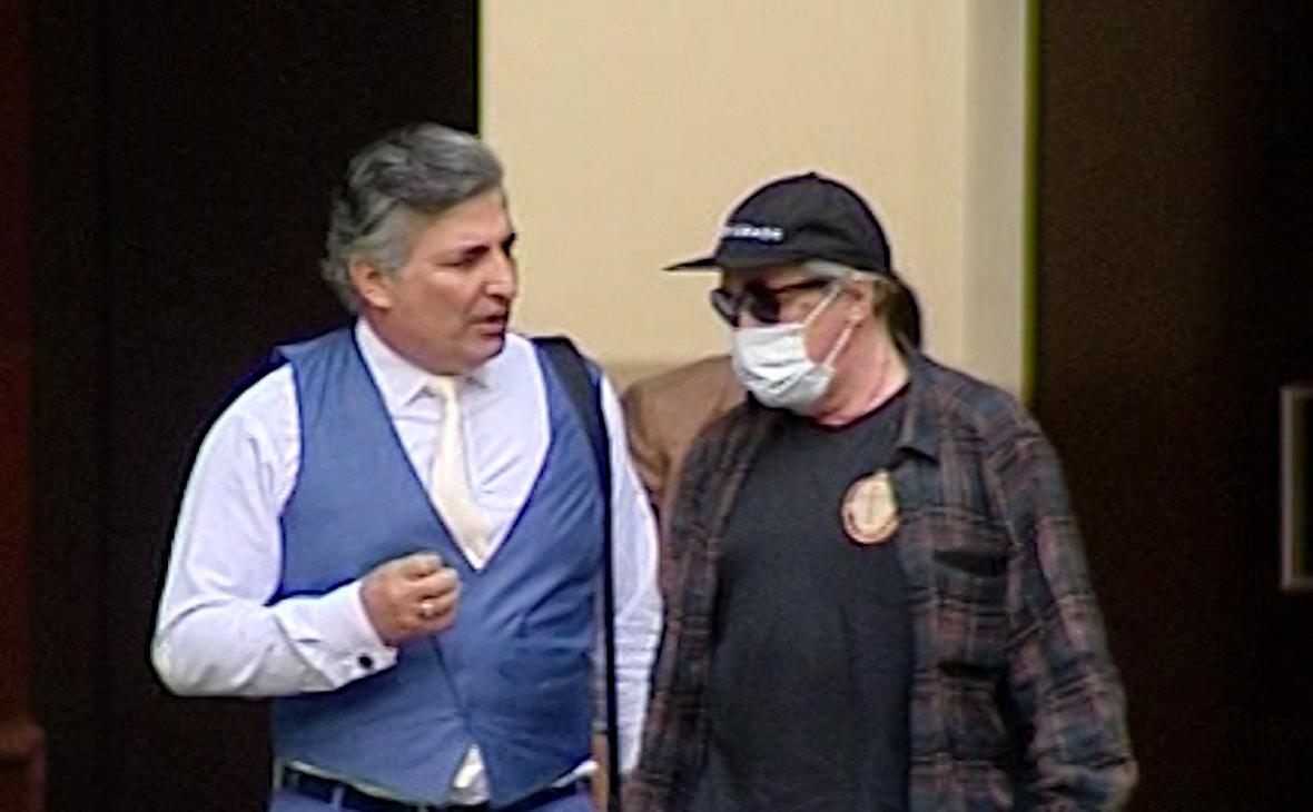 Эльман Пашаев (слева) иМихаил Ефремов