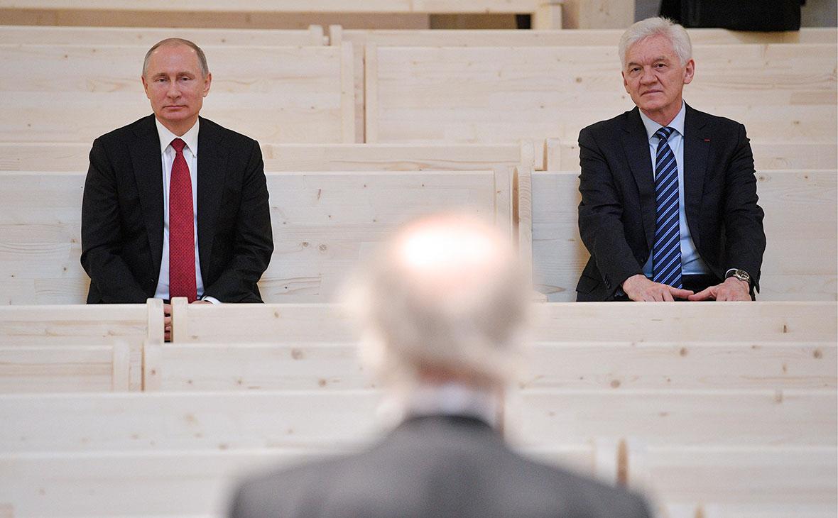 Путин призвал Тимченко не бояться рассказывать о российском газе в США