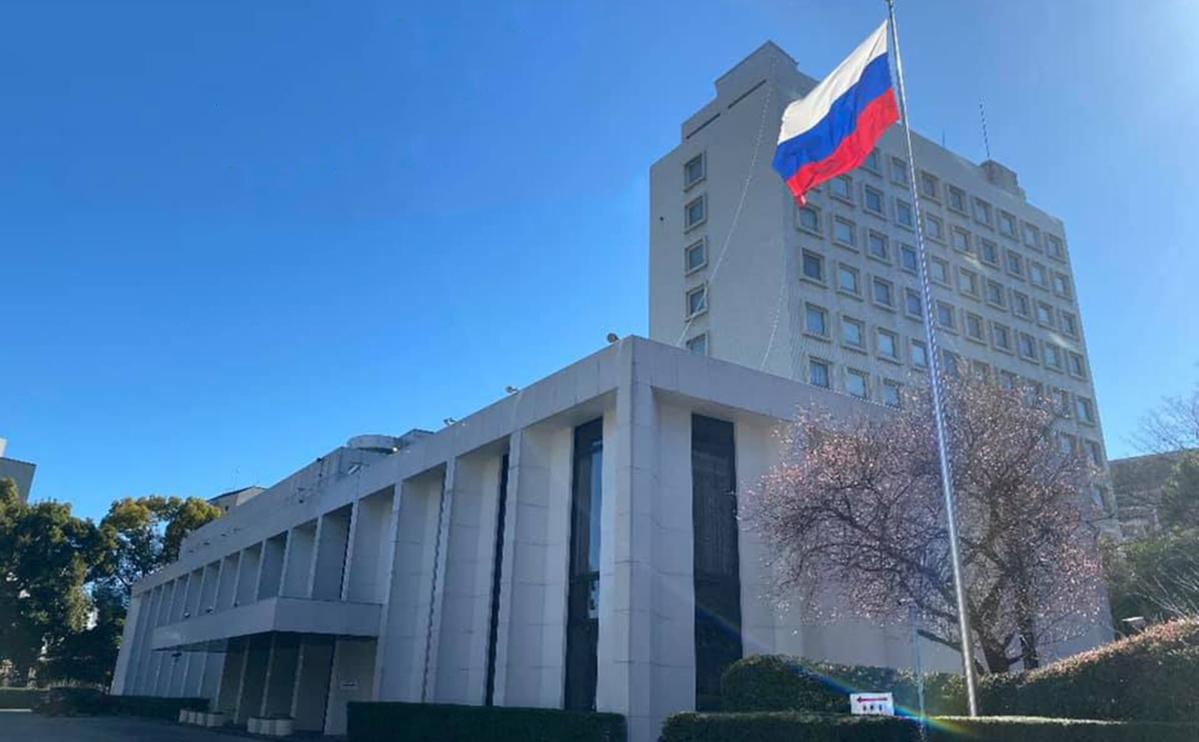 Здание посольства России в Японии